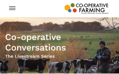 LIVESTREAM SERIES:  Co-Op Farming Conversations