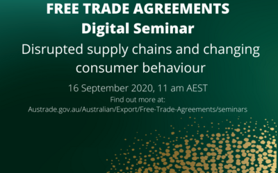 FTA SEMINAR:  Disrupted supply chains and changing consumer behaviours  (16 Sept)