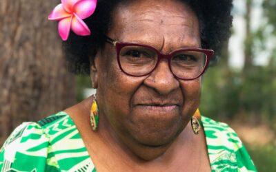 CONGRATULATIONS:  Queensland Senior Australian of the Year – Aunty McRose Elu