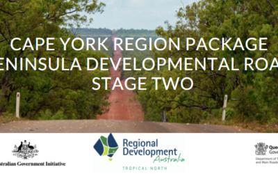 UPDATE:  CYRP Peninsula Developmental Road Update (Cooktown Wed 2 June)